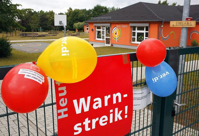 Kita Streik Mainz