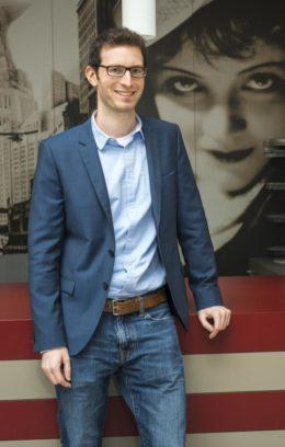 Sebastian Schnurr ist beim Murnau- Filmtheater verantwortlich