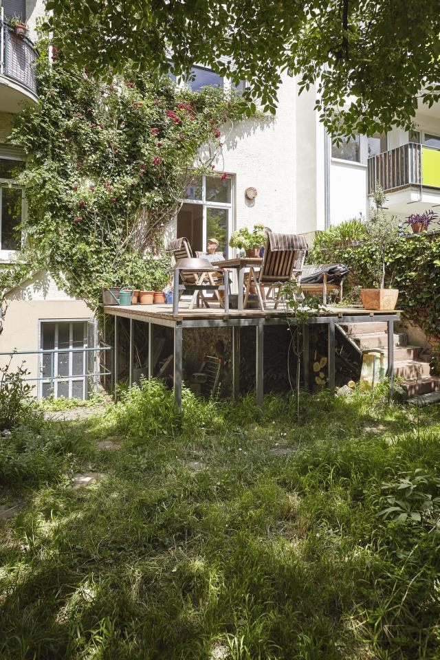 Oase Terrassen so wohnt mainz - oase in der neustadt - sensor magazin - mainz