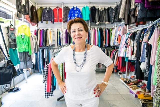 4384e7e36e409a Kaprice – die versteckte Secondhand-Perle hinter dem Schillerplatz: Chefin  Valentina Kiseleva kommt aus St. Petersburg